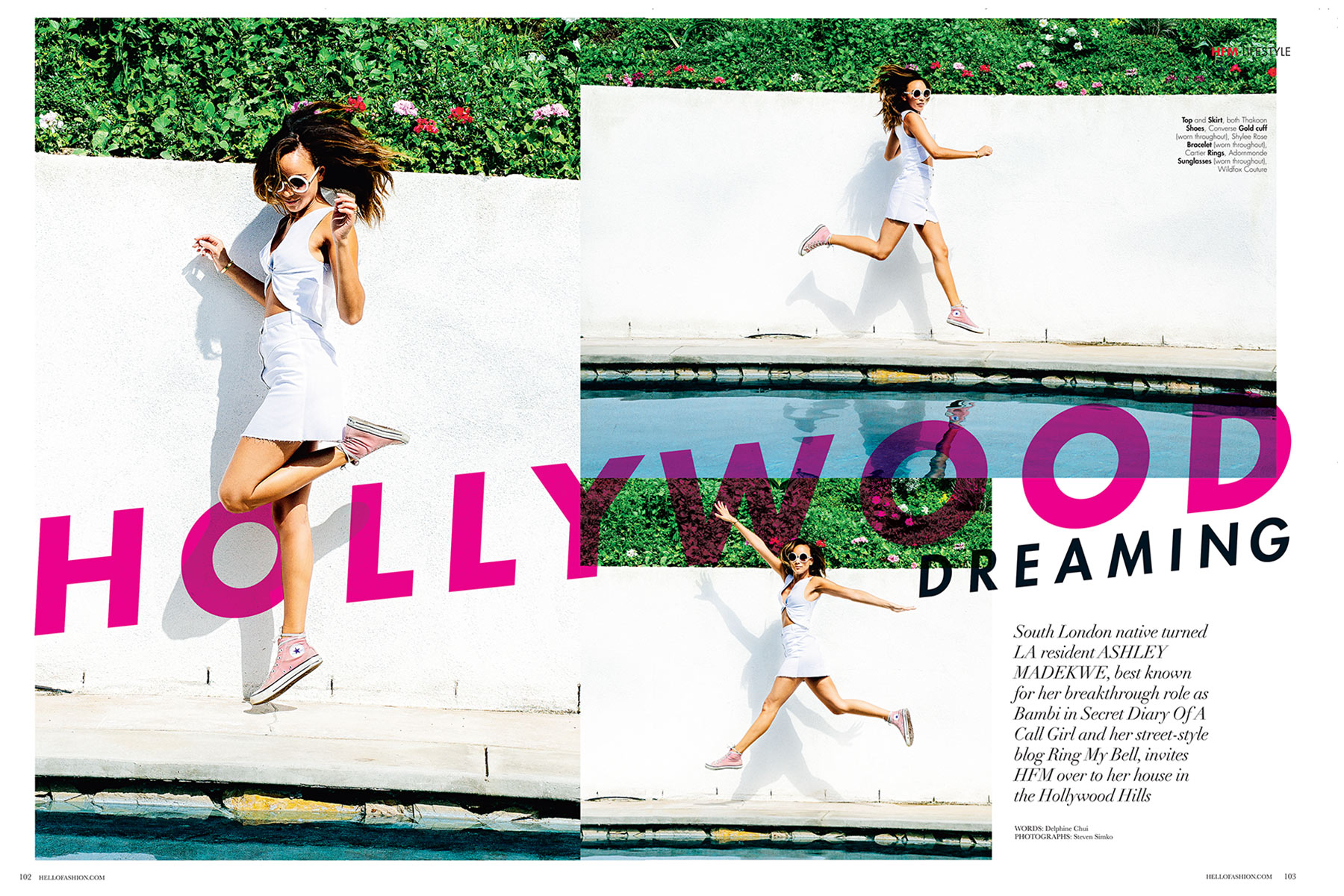 ASHLEY MADEKWE - HELLO! FASHION MONTHLY